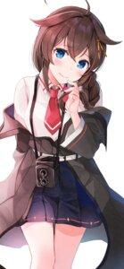 Rating: Safe Score: 17 Tags: kantai_collection seifuku shigure_(kancolle) yunamaro User: Arsy