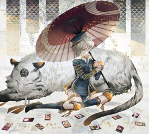 Rating: Safe Score: 28 Tags: abandon_ranka garter gokotai touken_ranbu umbrella User: nphuongsun93