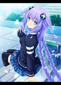Rating: Safe Score: 86 Tags: choujigen_game_neptune neptune_(shinjigen_game_neptune_vii) planeptune purple_heart seifuku shinjigen_game_neptune_vii thighhighs User: mattiasc02