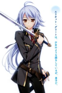 Rating: Safe Score: 24 Tags: kenkoku_no_jungfrau sword yasaka_minato User: donicila