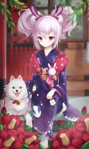 Rating: Safe Score: 25 Tags: animal_ears azur_lane bunny_ears kimono laffey_(azur_lane) wakum User: Mr_GT