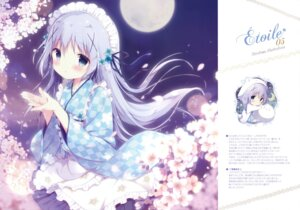 Rating: Safe Score: 70 Tags: chibi fixed gochuumon_wa_usagi_desu_ka? kafuu_chino maid shiratama shiratamaco User: HY_Little