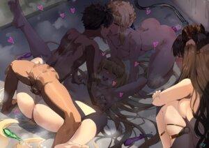 Rating: Explicit Score: 89 Tags: anus breast_grab cum ereshkigal_(fate/grand_order) fate/grand_order feet fujimaru_ritsuka_(male) garter jeanne_d'arc jeanne_d'arc_(fate) naked nanaya_(daaijianglin) nipples penis pussy pussy_juice saber sex uncensored vibrator User: Spidey