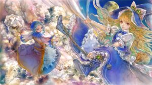 Rating: Safe Score: 21 Tags: kirisame_marisa kumoi_ichirin touhou yogisya User: Mr_GT