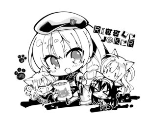 Rating: Safe Score: 29 Tags: animal_ears arihara_nanami chibi komowata_haruka mitsukasa_ayase monochrome nekomimi nijouin_hazuki riddle_joker seifuku shikibe_mayu tail uniform yuzu-soft User: moonian
