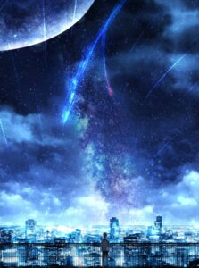 Rating: Safe Score: 41 Tags: czy_(2894456992) kimi_no_na_wa landscape male tachibana_taki User: charunetra