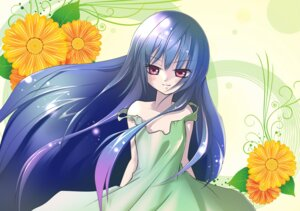 Rating: Safe Score: 10 Tags: dress furude_rika higurashi_no_naku_koro_ni satoru_aki summer_dress User: Radioactive