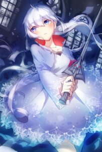 Rating: Safe Score: 56 Tags: dress rwby sword weapon weiss_schnee you_hashira User: zero|fade