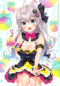 Rating: Safe Score: 19 Tags: animal_ears dress gyozanuko nekomimi tail User: Arsy