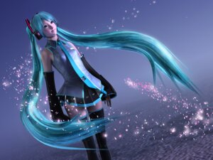 Rating: Safe Score: 37 Tags: ancho_bi cg hatsune_miku hinemaru thighhighs vocaloid wallpaper User: Shamensyth