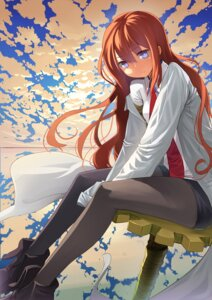 Rating: Safe Score: 29 Tags: makise_kurisu pantyhose steins;gate zengxianxin User: SubaruSumeragi