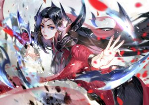 Rating: Safe Score: 54 Tags: armor irelia league_of_legends vardan weapon User: Keethaux