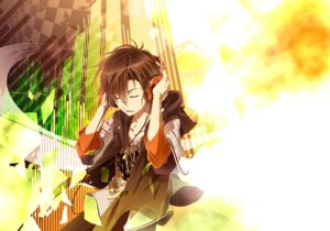 Rating: Safe Score: 12 Tags: hakumai headphones male takigawa_yoshino zetsuen_no_tempest User: charunetra
