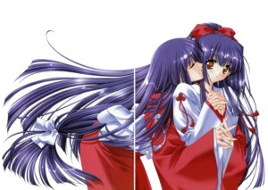 Rating: Safe Score: 10 Tags: carnelian gap kuraki_mizuna kuraki_suzuna miko moonlight_lady orbit User: WtfCakes