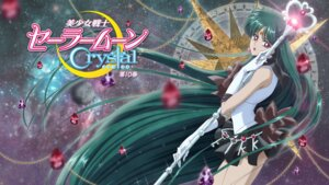 Rating: Safe Score: 12 Tags: disc_cover meiou_setsuna sailor_moon sailor_moon_crystal sakou_yukie weapon User: saemonnokami