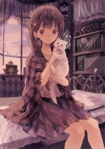 Rating: Safe Score: 45 Tags: iijima_masashi neko User: LolitaJoy