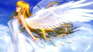Rating: Safe Score: 64 Tags: air angel dress kamio_misuzu moonknives wallpaper wings User: blooregardo