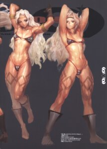Rating: Questionable Score: 5 Tags: bikini_armor heels tagme tattoo User: Radioactive