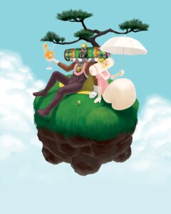 Rating: Questionable Score: 4 Tags: katamari_damacy megane umbrella User: birdy73