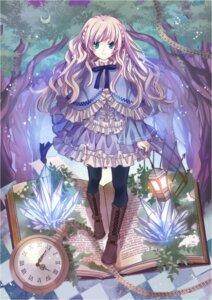 Rating: Safe Score: 46 Tags: fuuten_nozomi lolita_fashion pantyhose User: Riven