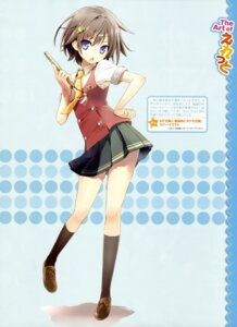 Rating: Safe Score: 44 Tags: eretto ruriiro_ni_boketa_nichijou seifuku User: drop