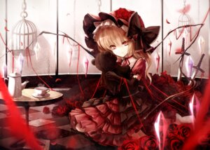 Rating: Safe Score: 55 Tags: dress famy_siraso flandre_scarlet gothic_lolita lolita_fashion sword touhou wings User: KazukiNanako