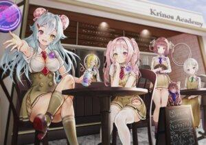 Rating: Safe Score: 27 Tags: cleavage heels neko rasukii_(pamiton) thighhighs uniform waitress User: BattlequeenYume