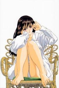 Rating: Safe Score: 20 Tags: dress_shirt feet pantsu yoshizane_akihiro User: akiyama_yuuko