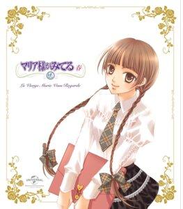 Rating: Safe Score: 8 Tags: hibiki_reine maria-sama_ga_miteru seifuku shimazu_yoshino User: saemonnokami