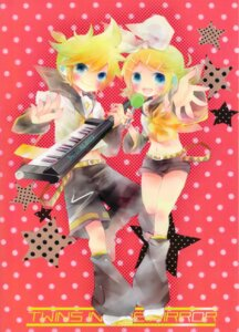 Rating: Safe Score: 7 Tags: kagamine_len kagamine_rin shimeko vocaloid User: fireattack
