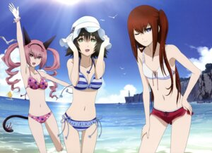 Rating: Safe Score: 52 Tags: animal_ears bikini cleavage faris_nyanyan makise_kurisu shiina_mayuri steins;gate swimsuits tail User: PPV10