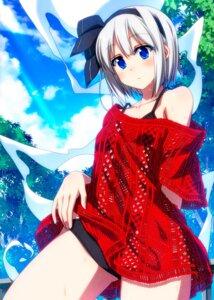 Rating: Safe Score: 16 Tags: bikini dress konpaku_youmu myon sazanami_mio see_through swimsuits touhou User: Mr_GT