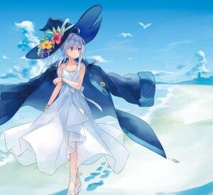 Rating: Safe Score: 25 Tags: azure0608 dress heels majo_no_tabitabi summer_dress tagme witch User: hiroimo2