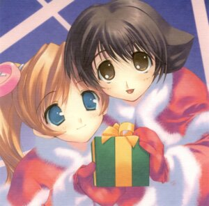 Rating: Safe Score: 4 Tags: amaduyu_tatsuki christmas cut_a_dash!! mitsumi_misato User: fireattack
