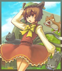 Rating: Safe Score: 5 Tags: chen nakune touhou User: konstargirl