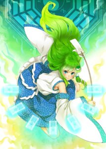 Rating: Safe Score: 11 Tags: kochiya_sanae nishiuri touhou User: Mr_GT