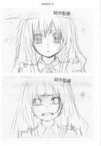 Rating: Safe Score: 2 Tags: aisaka_taiga monochrome sketch User: superogira