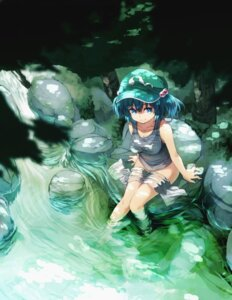Rating: Questionable Score: 40 Tags: bottomless kawashiro_nitori notsugimi see_through touhou User: Radioactive