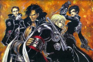 Rating: Safe Score: 4 Tags: hugue_de_watteau leon_garcia_de_asturias monica_argento sword thores_shibamoto trinity_blood william_walter_wordsworth User: Radioactive
