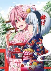 Rating: Safe Score: 24 Tags: kimono konpaku_youmu nori_tamago saigyouji_yuyuko touhou User: Mr_GT