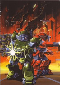 Rating: Safe Score: 2 Tags: mecha votoms User: Densha