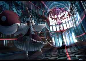 Rating: Safe Score: 32 Tags: gustav hakurei_reimu miko remilia_scarlet touhou wings User: 23yAyuMe