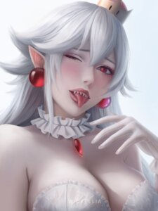 Rating: Safe Score: 30 Tags: cleavage new_super_mario_bros._u_deluxe pointy_ears princess_king_boo signed wickellia User: charunetra