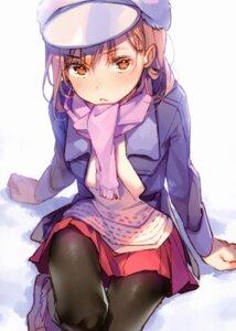 Rating: Safe Score: 19 Tags: dsmile misaka_mikoto pantyhose sweater to_aru_kagaku_no_railgun to_aru_majutsu_no_index User: kiyoe