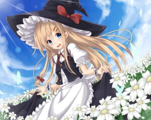 Rating: Safe Score: 32 Tags: kirisame_marisa rugaru skirt_lift touhou witch User: Mr_GT
