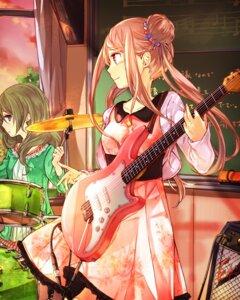 Rating: Safe Score: 15 Tags: dress guitar school_fanfare User: saemonnokami