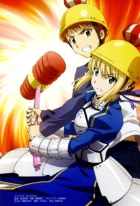 Rating: Safe Score: 15 Tags: carnival_phantasm emiya_shirou fate/stay_night hirose_tomohito saber User: Wraith