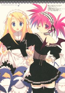 Rating: Questionable Score: 11 Tags: disgaea etna flonne maid nun penguin pointy_ears tagme thighhighs wings User: Radioactive