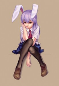 Rating: Safe Score: 14 Tags: animal_ears geister pantyhose reisen_udongein_inaba touhou User: Moebius_Strip