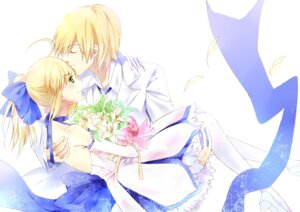 Rating: Safe Score: 15 Tags: dress fate/stay_night heels saber thighhighs xiaoya User: charunetra